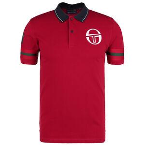 Freud Monte-Carlo Staff Poloshirt Herren, rot / dunkelblau, zoom bei OUTFITTER Online