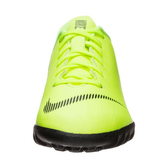Mercurial VaporX XII Academy TF Fußballschuh Kinder, neongelb / schwarz, zoom bei OUTFITTER Online