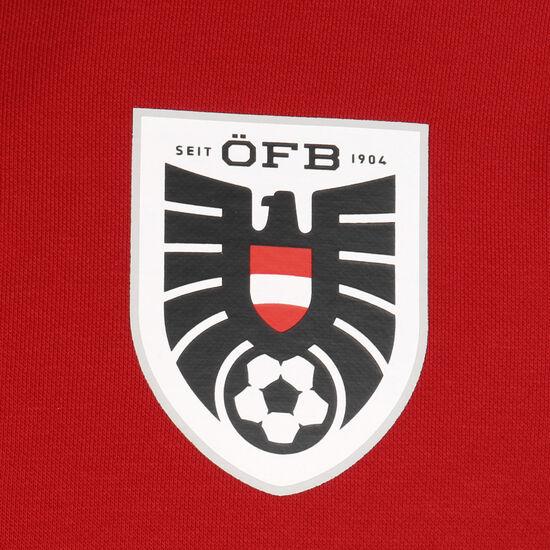 ÖFB Österreich FtblCulture Sweatshirt EM 2021 Herren, rot / weiß, zoom bei OUTFITTER Online