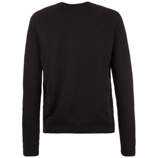 Essential Crew Sweatshirt Damen, schwarz / weiß, zoom bei OUTFITTER Online