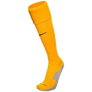 Matchfit Cushioned Sockenstutzen, gelb / schwarz, zoom bei OUTFITTER Online