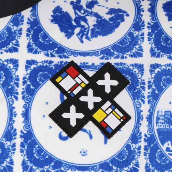 Amsterdam Fußballtrikot, blau, zoom bei OUTFITTER Online