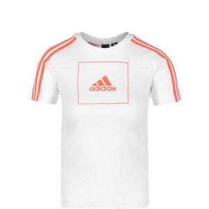 Athletics Club T--Shirt Kinder, weiß / orange, zoom bei OUTFITTER Online