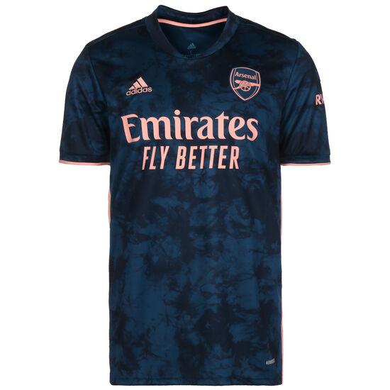 FC Arsenal Trikot 3rd 2020/2021 Herren, dunkelblau / korall, zoom bei OUTFITTER Online