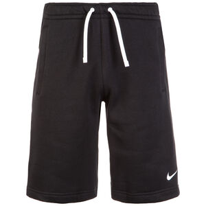 Club19 Fleece TM Trainingsshort Herren, schwarz / weiß, zoom bei OUTFITTER Online