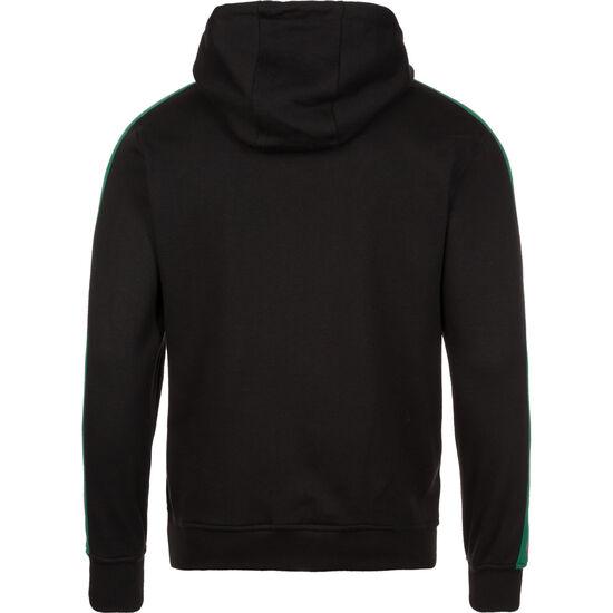 Stripe Shoulder Kapuzenpullover Herren, schwarz / rot / grün, zoom bei OUTFITTER Online