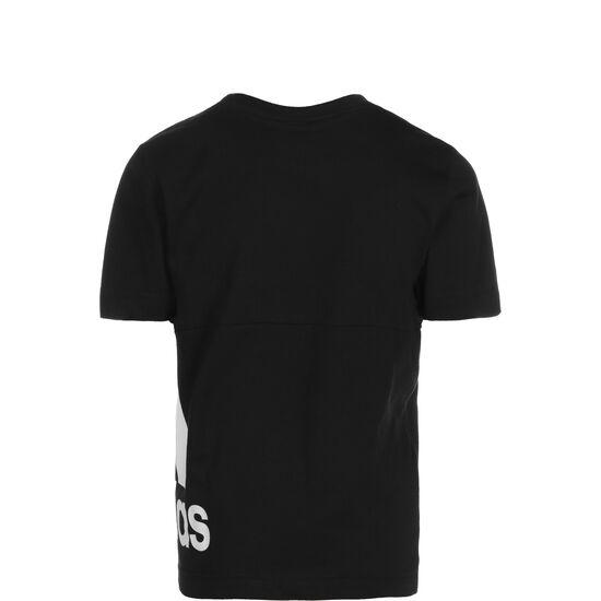 Must Haves Badge Of Sport Big Logo Trainingsshirt Kinder, schwarz / weiß, zoom bei OUTFITTER Online
