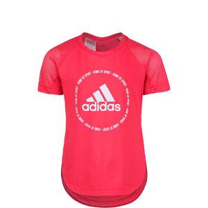 Bold Trainingsshirt Kinder, lachs / weiß, zoom bei OUTFITTER Online