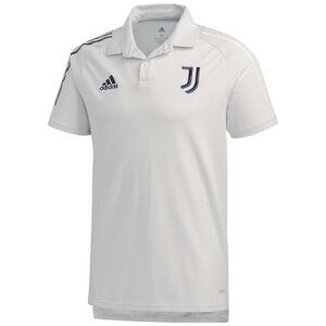 Juventus Turin Poloshirt Herren, hellgrau / dunkelblau, zoom bei OUTFITTER Online