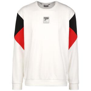 Rebel Crew Small Logo Sweatshirt Herren, weiß / rot, zoom bei OUTFITTER Online