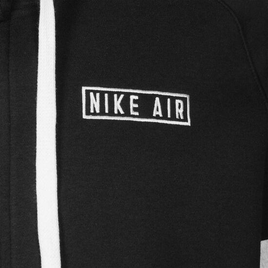 Air Fleece Kapuzenjacke Herren, schwarz, zoom bei OUTFITTER Online
