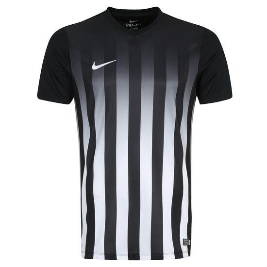 Striped Division II Fußballtrikot Herren, Schwarz, zoom bei OUTFITTER Online