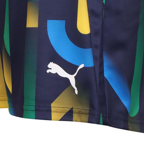 Neymar Hero Future Printed Shorts Kinder, dunkelblau / gelb, zoom bei OUTFITTER Online