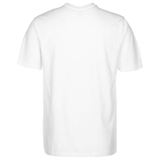 Bubble Chevron T-Shirt Herren, weiß / schwarz, zoom bei OUTFITTER Online