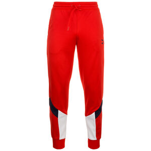 Iconics MCS Track Jogginghose Herren, rot / weiß, zoom bei OUTFITTER Online