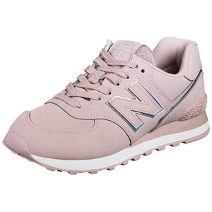 WL574-B Sneaker Damen, pink / weiß, zoom bei OUTFITTER Online