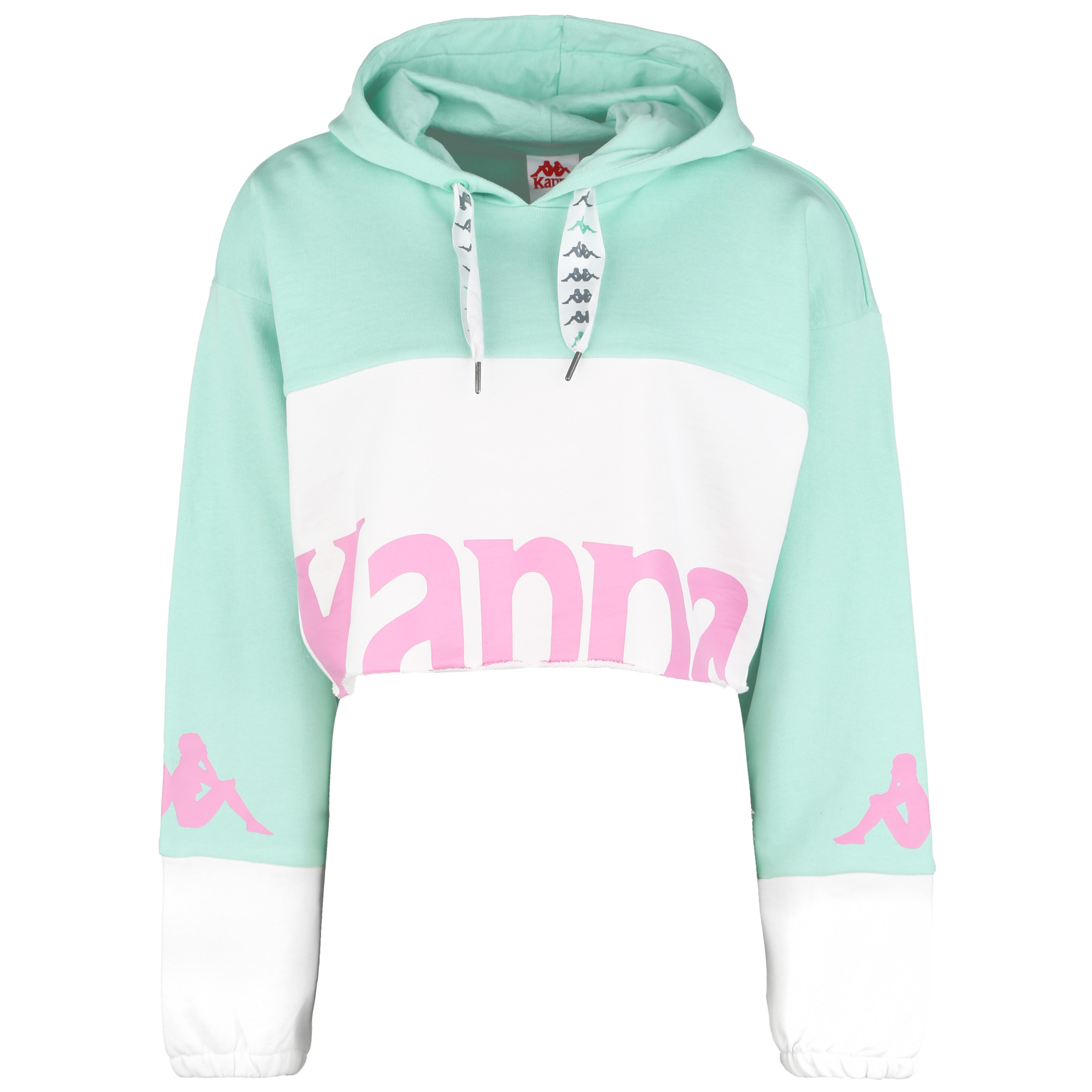 Kappa Authentic Sand Clayde Hoodie Damen Sport 1a