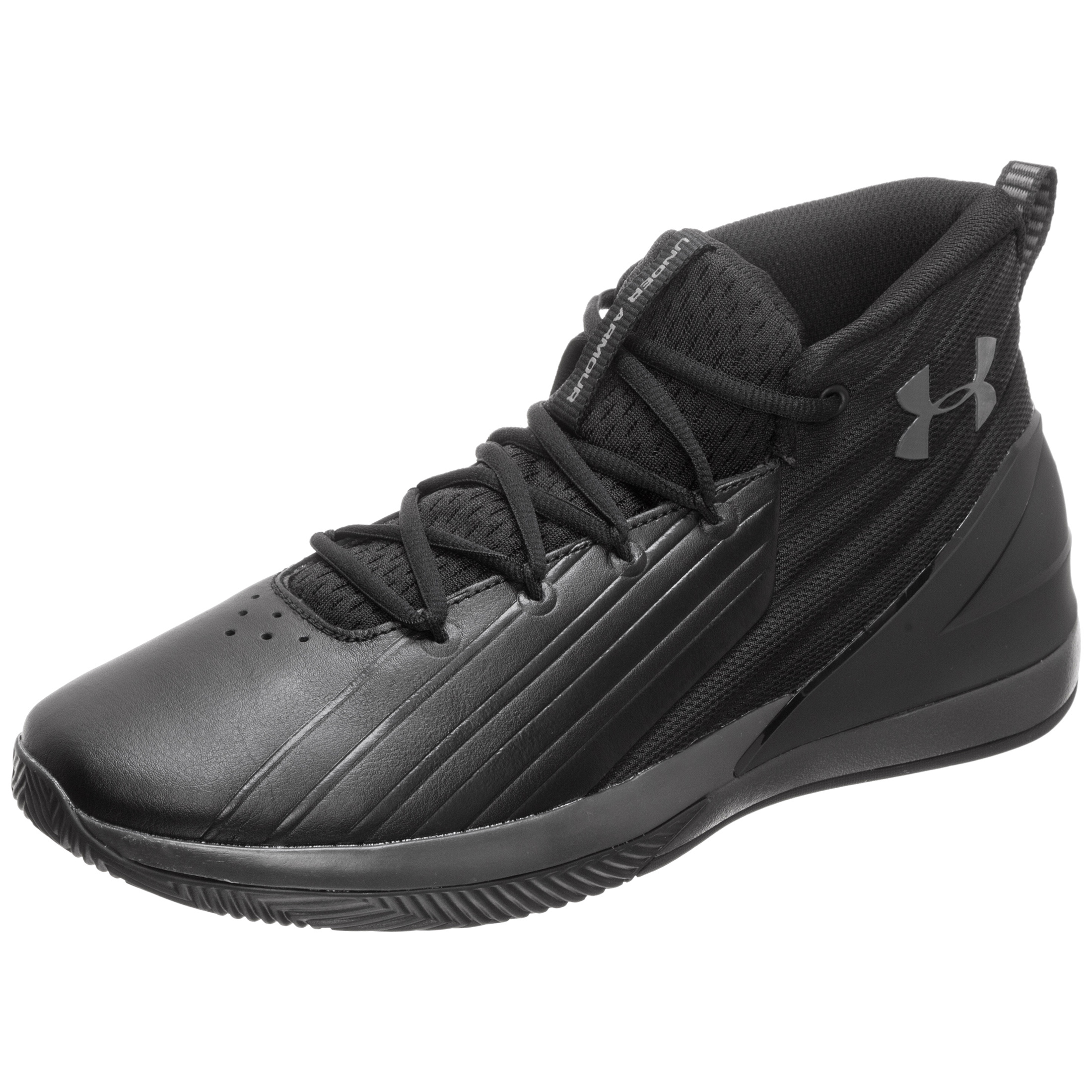 new products 40b54 94ba4 Under Armour Men s UA Lockdown 3 Basketball Shoes   3020622-001   FOOTY.COM