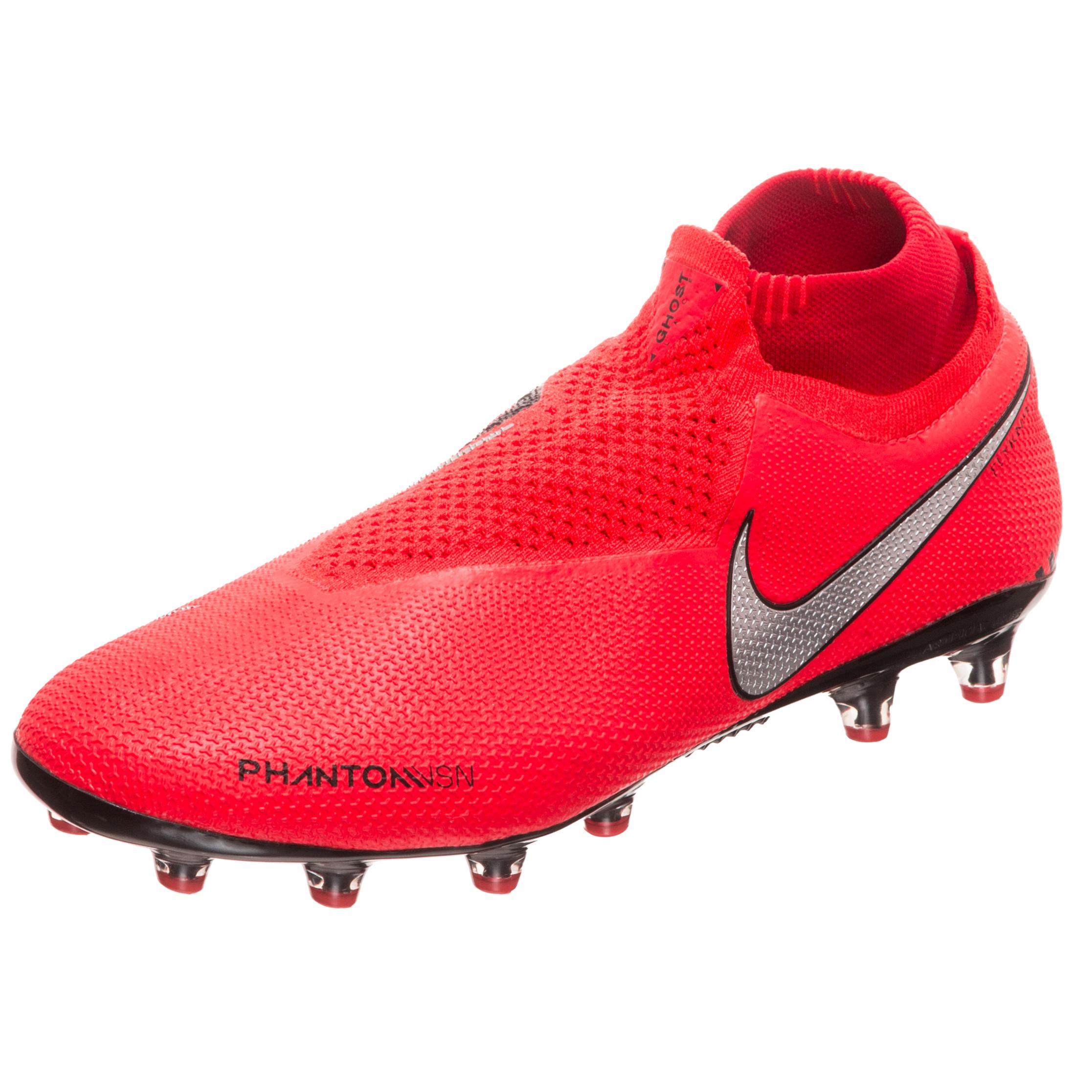 7a975dfd3382 Nike Phantom Vision Elite Dynamic Fit Artificial-Grass Football Boot - Red  | AO3261-600 | FOOTY.COM