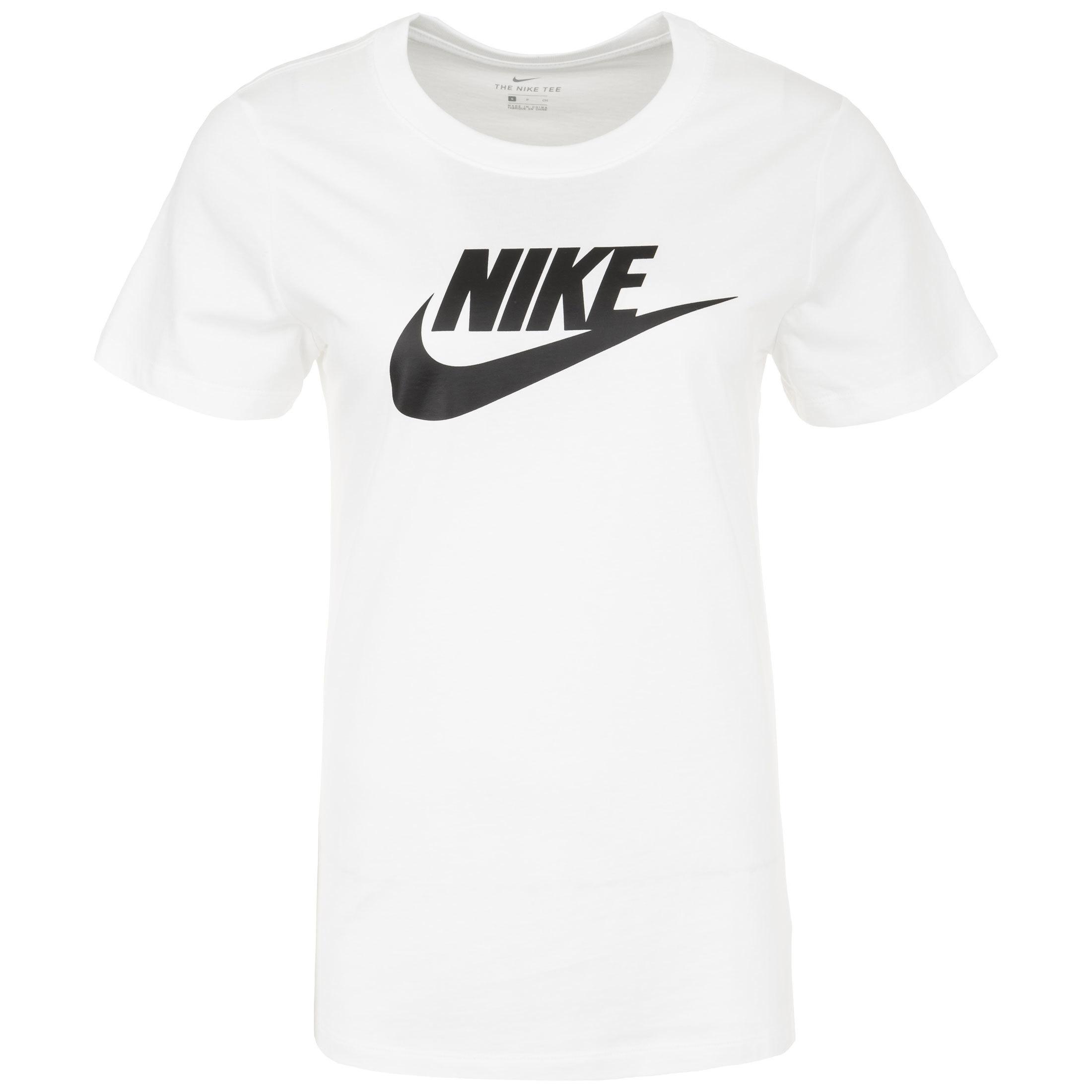 Nike Sportswear Essential T Shirt White Bv6169 100 Footy Com