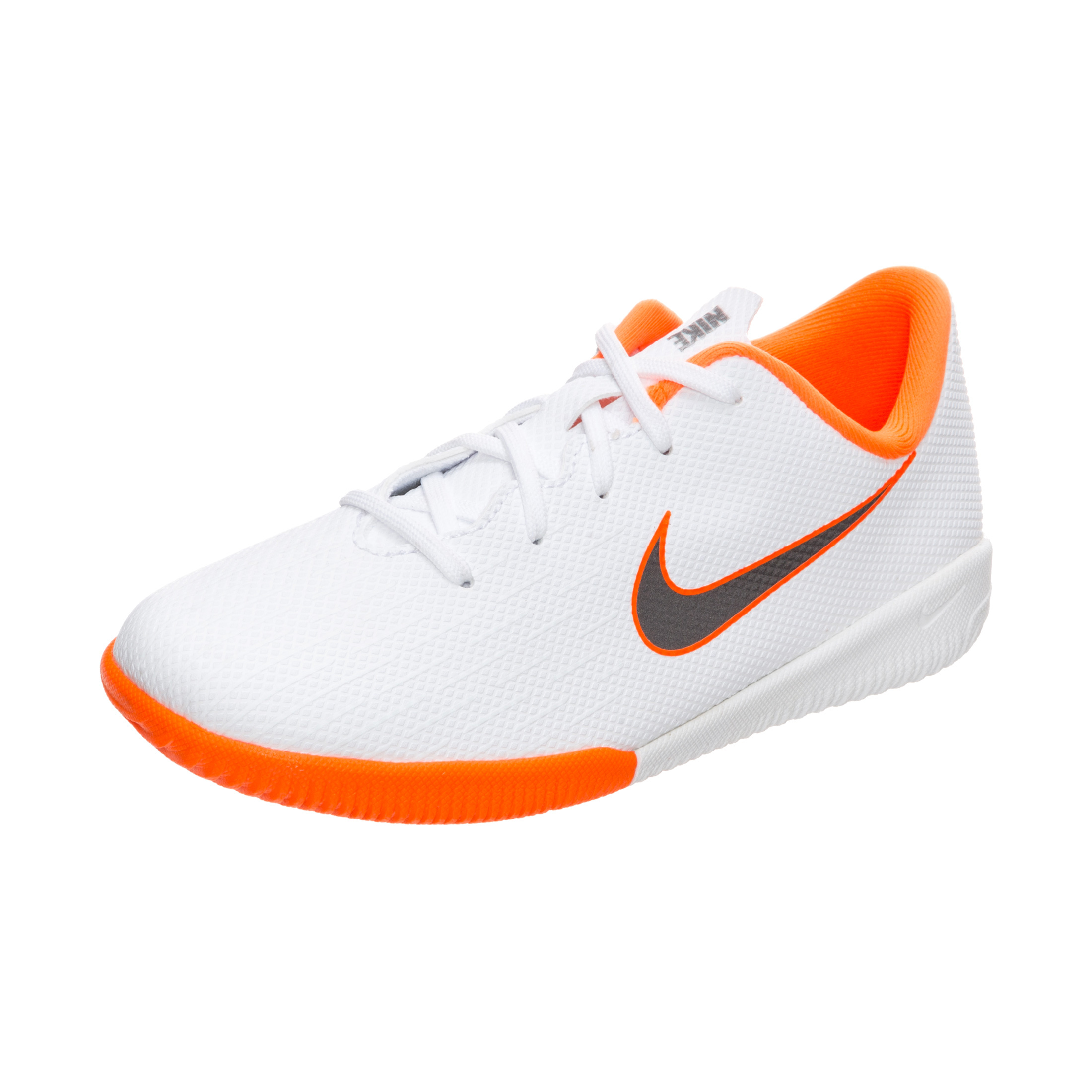 new products 3fc48 9286b Nike Mercurial VaporX 12 Academy IC Just Do It - White/Metallic Cool Grey  Kids
