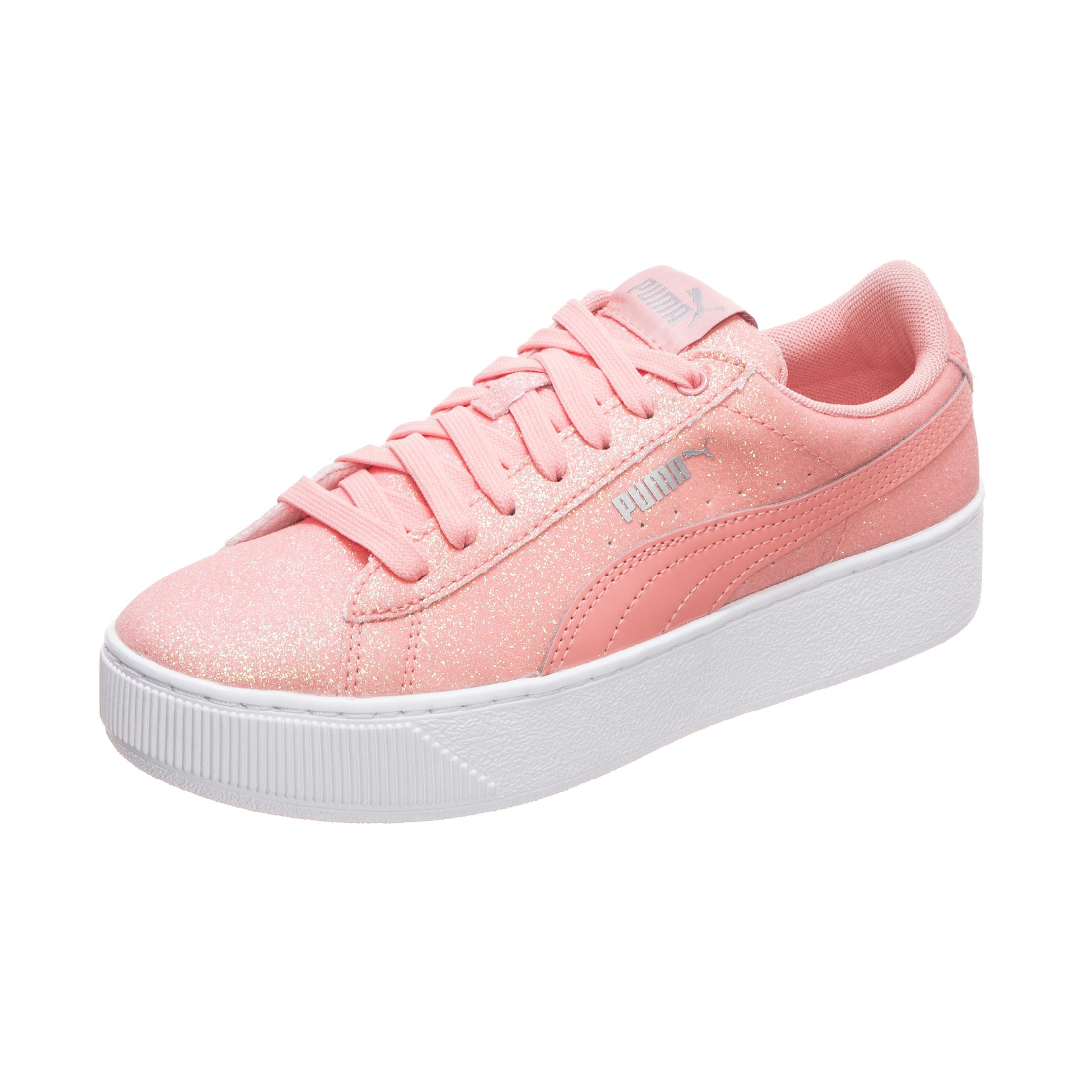 Sneakers low VIKKY PLATFORM GLITZ JR für Mädchen, PUMA