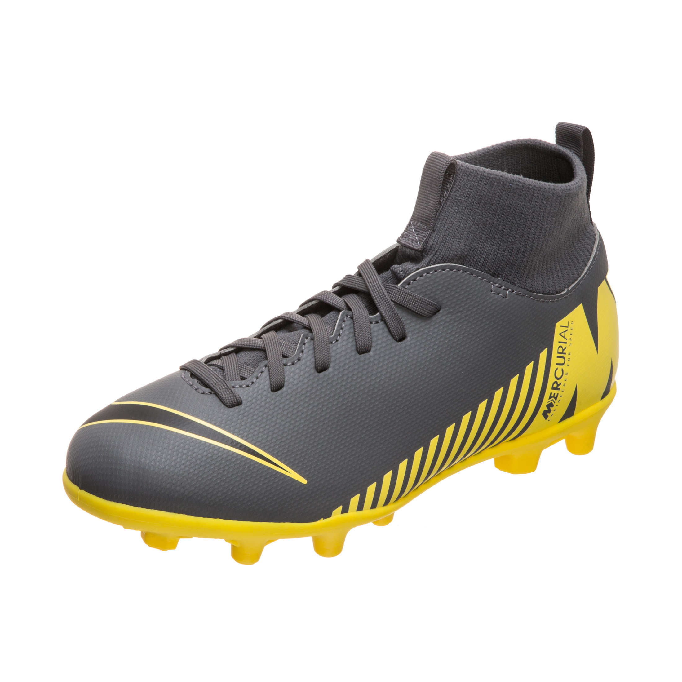 dafeee1d7 Nike Mercurial Superfly 6 Club MG Game Over - Dark Grey/Opti Yellow |  AH7339-070 | FOOTY.COM