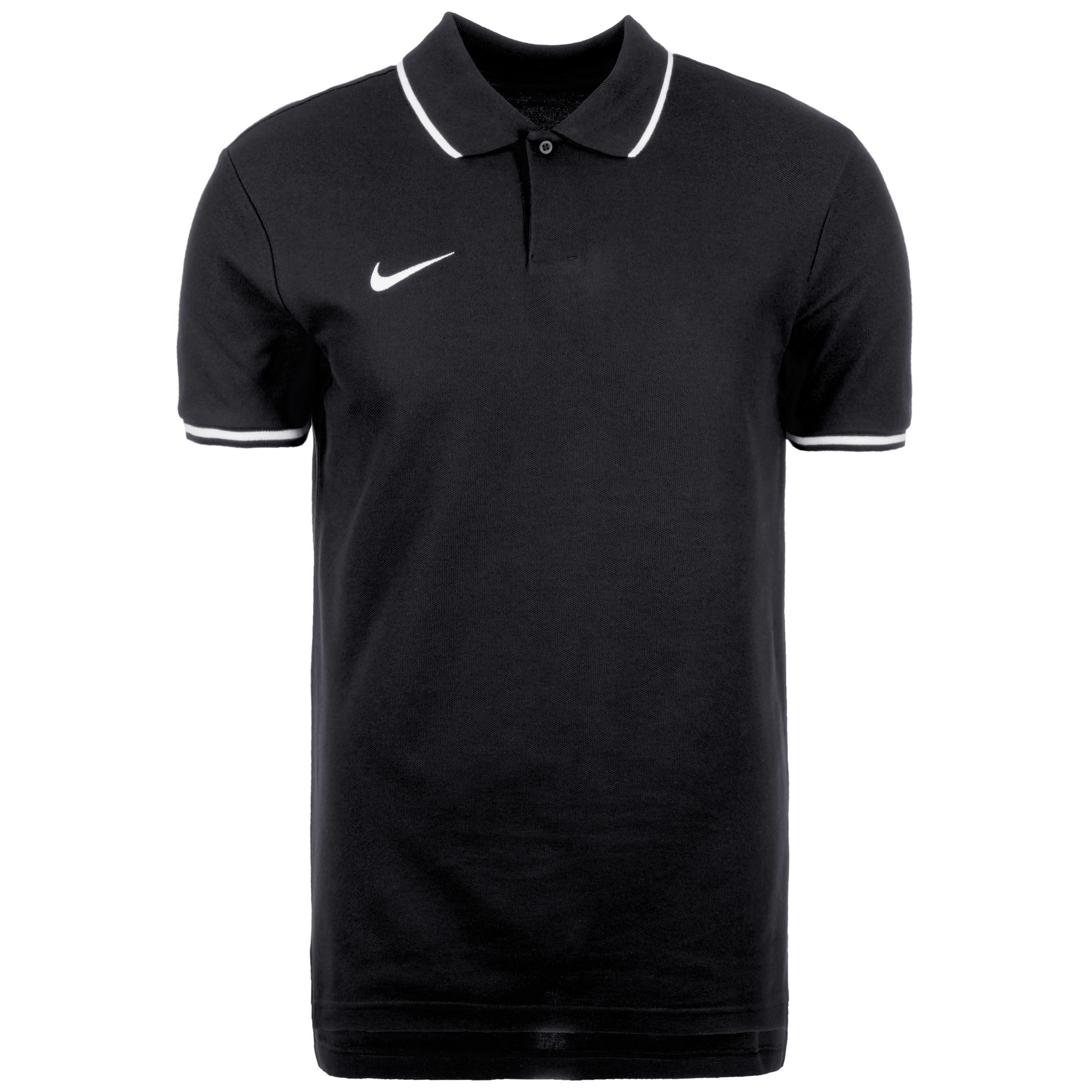 ec4b61a2 Nike Polo Team Club 19 - Black/White | AJ1502-010 | FOOTY.COM