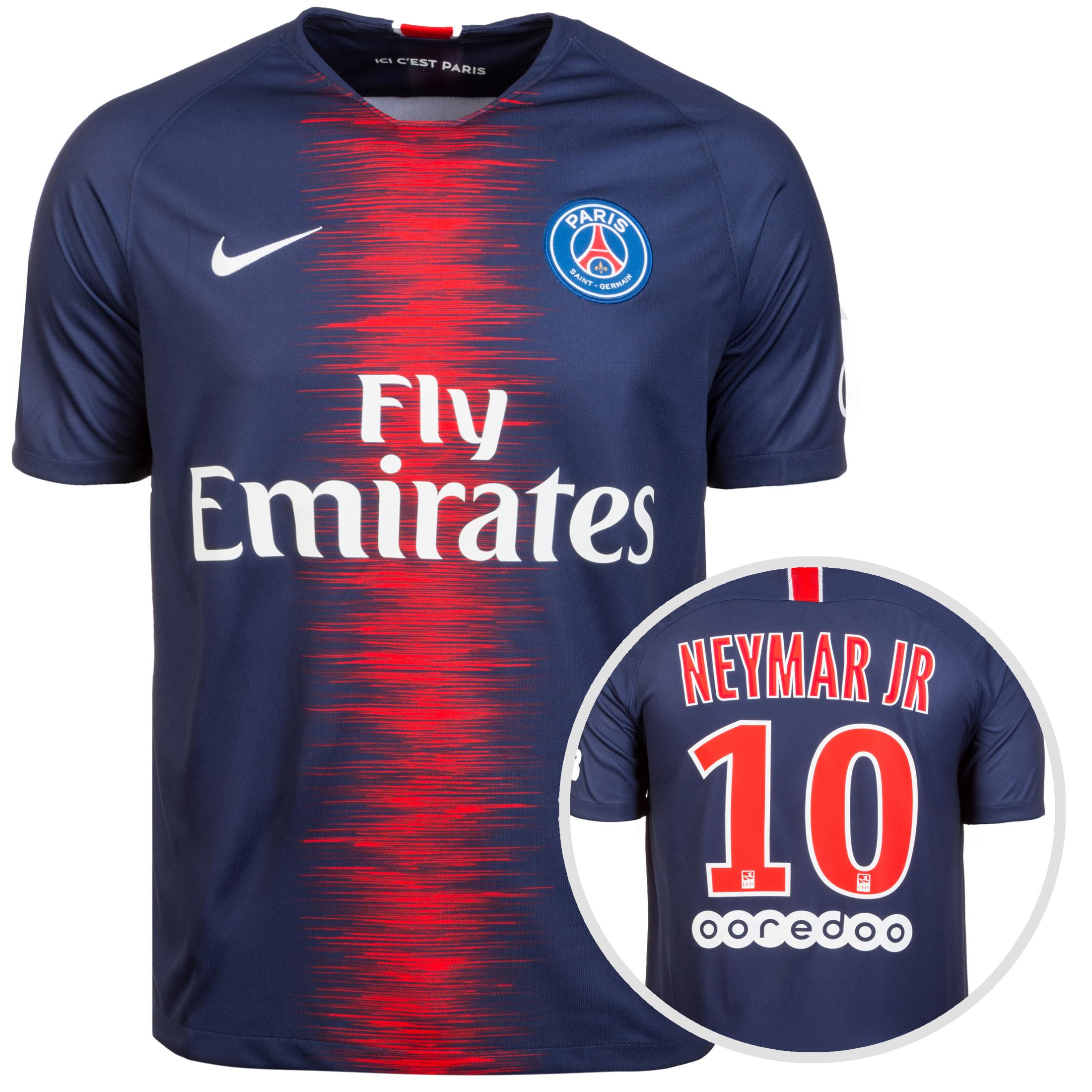 48903de2f45e3 Paris Saint Germain Mens SS Home Shirt 18/19 | 894432-411 | FOOTY.COM