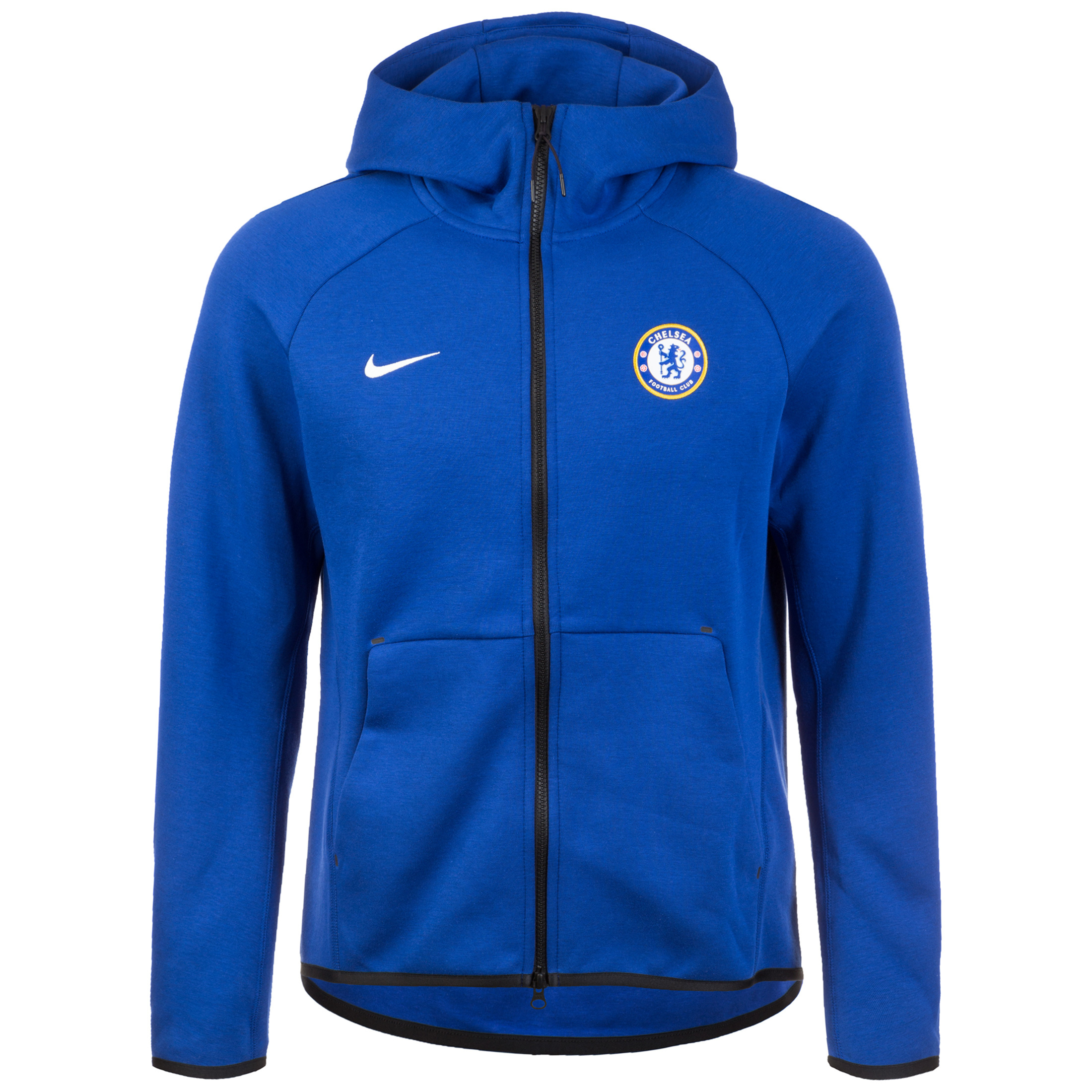 Nike Chelsea FC Tech Fleece Men's Full Zip Hoodie Blue