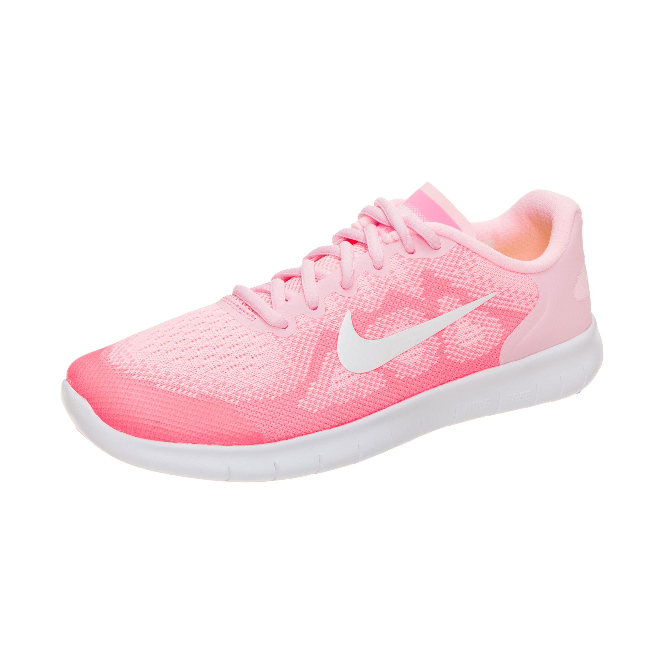 cheaper 45d73 d30ab Nike Free RN 2017 Older Kids'Running Shoe - Pink