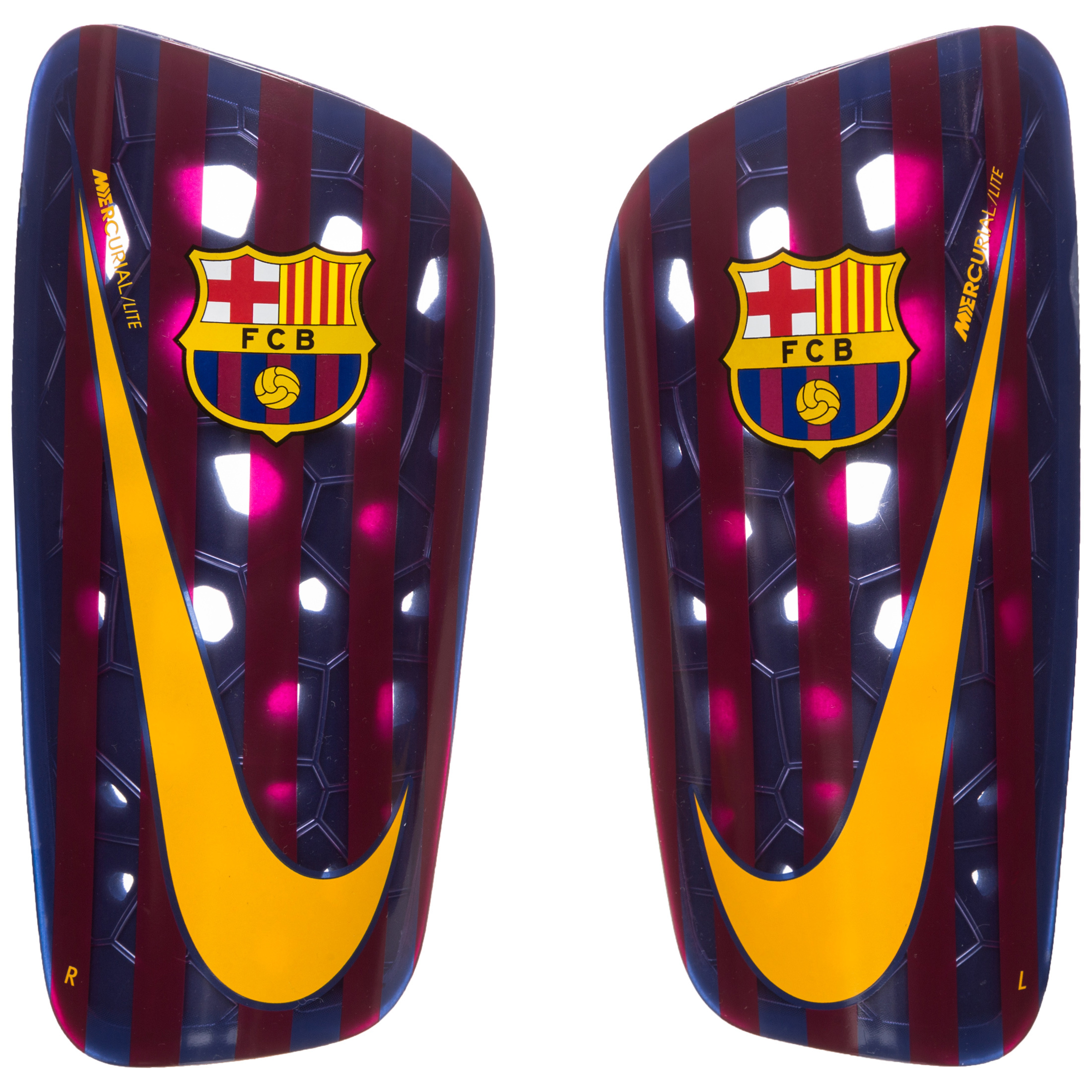 7ee12ad7 Nike FC Barcelona Mercurial Lite Football Shinguards - Blue | SP2133-455 |  FOOTY.COM