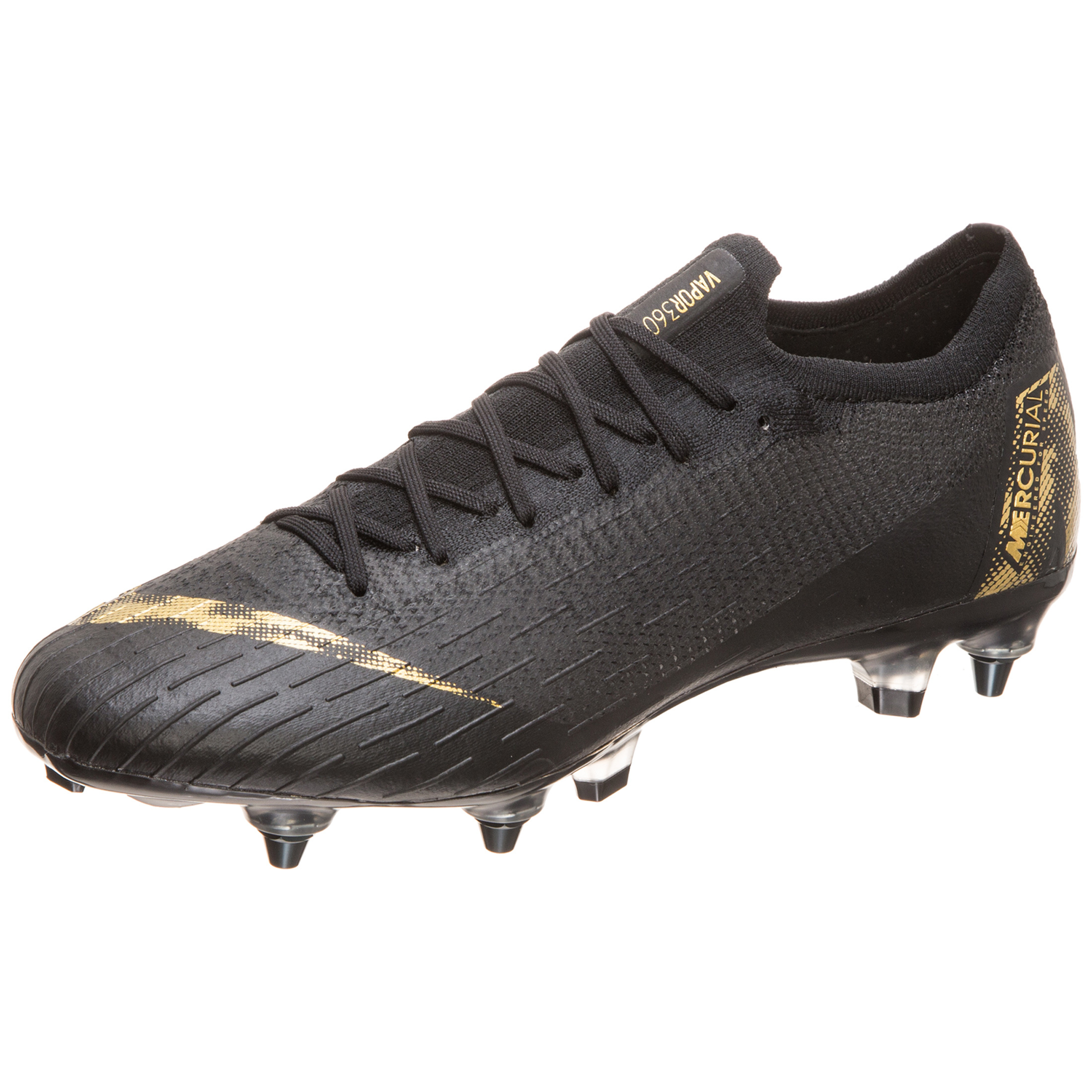 new product a0cdc 913eb Nike Mercurial Vapor 360 Elite SG-PRO Anti-Clog Soft-Ground Football Boot -  Black