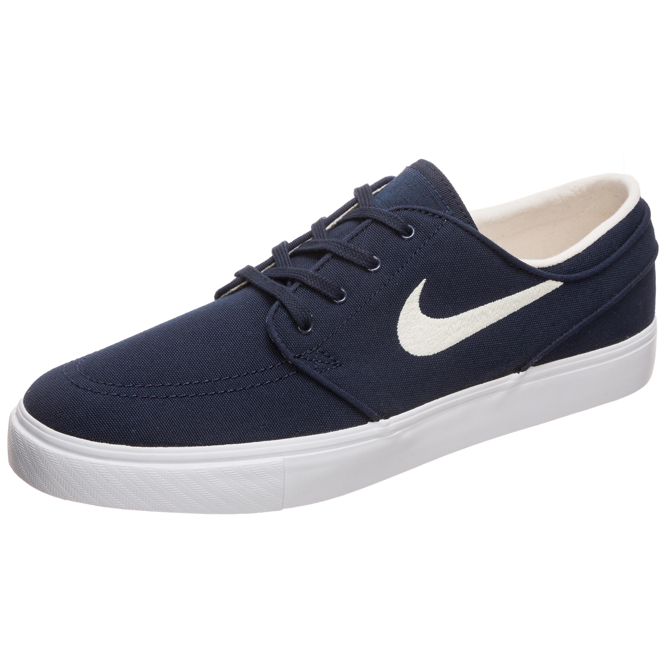 a576c90fa363 Nike SB Zoom Stefan Janoski Canvas Men s Skateboarding Shoe - Blue ...