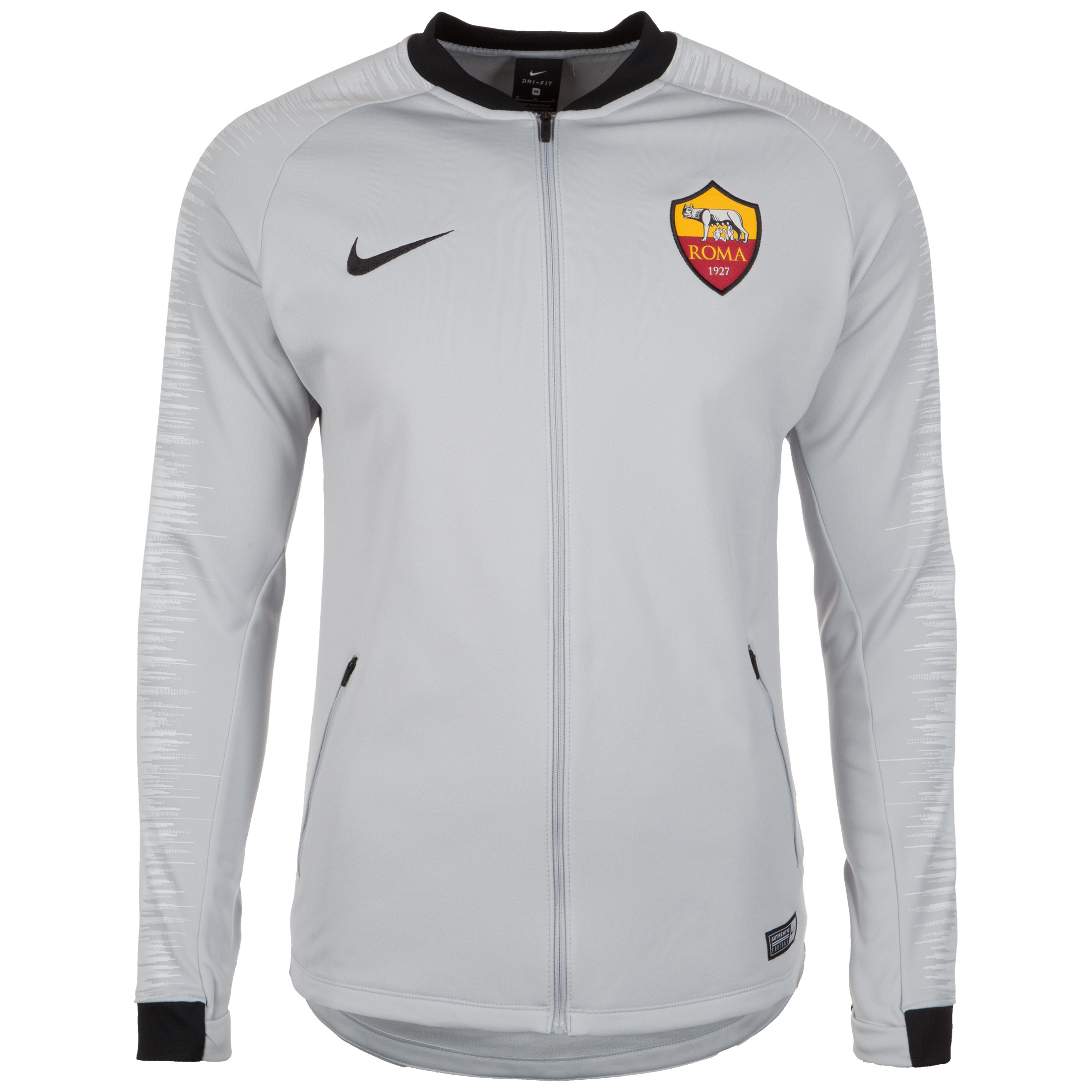 check out 5811d 3be5a Nike A.S. Roma Anthem Men's Football Jacket - Grey